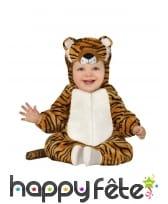 Combinaison de tigre pour bébé