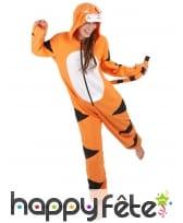 Combinaison de tigre pour femme