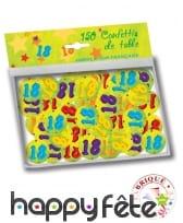 Confettis de table âge de 2,5cm, image 2