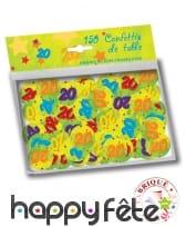 Confettis de table âge de 2,5cm, image 4