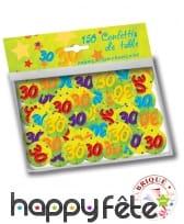Confettis de table âge de 2,5cm, image 5