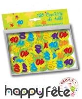 Confettis de table âge de 2,5cm, image 6