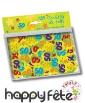 Confettis de table âge de 2,5cm, image 7