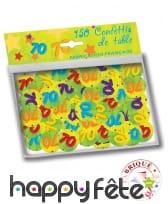 Confettis de table âge de 2,5cm, image 8
