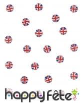 Confettis de table drapeau Angleterre, image 1