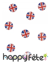 Confettis de table drapeau Angleterre