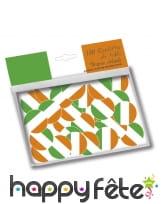 Confettis de table drapeau Irlandais