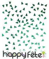 Confettis de table en forme de sapin vert, image 1