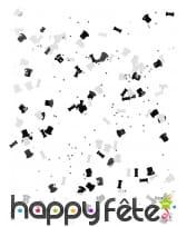 Confettis de table noirs et blancs années 20, image 1