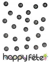 Confettis de table VIP âge imprimé, image 1