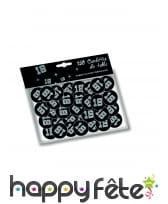 Confettis de table VIP âge imprimé, image 2