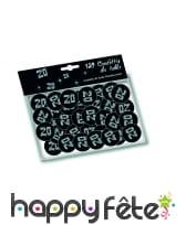 Confettis de table VIP âge imprimé, image 3