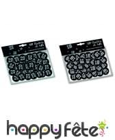 Confettis de table VIP âge imprimé