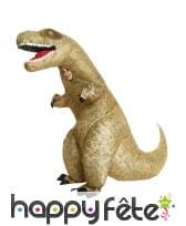 Costume de T-rex gonflable pour enfant