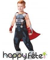 Costume de Thor pour enfant avec cape