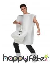 Costume de toilettes humoristique