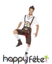 Costume de tyrolien saucisse zizi Brad Wurst