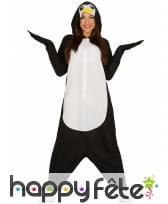 Combinaison d'un pingouin pour adulte