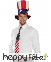 Cravate drapeau USA