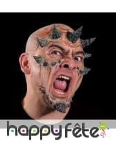 Cornes de visage pour maquillage de mutant