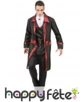 Costume de vampire avec longue veste