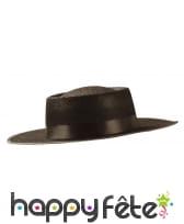 Chapeau de zorro pour adulte, en feutrine, image 1