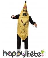 Costume de zombie banane