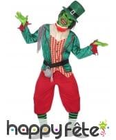 Costume de zombie leprechaun pour adulte