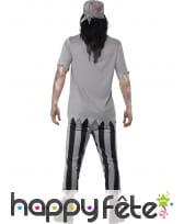 Costume de zombie pirate pour homme, image 1