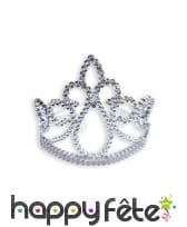 Couronne et baguette de princesse étoile argentée, image 2