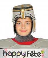 Casque enfant de chevalier médiéval