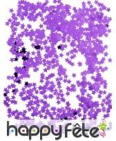 Confettis étoiles de 1cm, métallisés, image 1