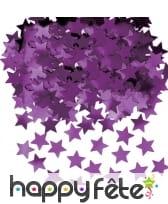 Confettis étoiles de 1cm, métallisés, image 2