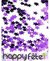 Confettis étoiles de 1cm, métallisés, image 3