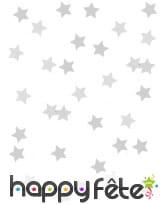 Confettis étoiles de 1cm, métallisés, image 4
