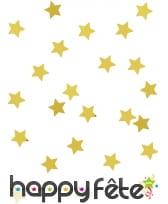 Confettis étoiles de 1cm, métallisés, image 5