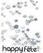 Confettis étoiles et coupes de 1cm, image 2