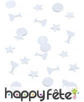 Confettis étoiles et coupes de 1cm, image 3