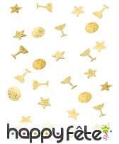 Confettis étoiles et coupes de 1cm, image 5