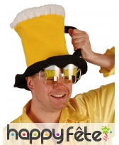 Chapeau en forme de bière