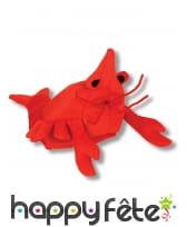 Chapeau en forme de homard pour adulte