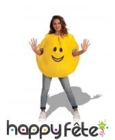 Costume émoticône joyeux pour adulte