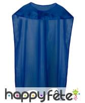Cape et masque bleu de super héros pour adulte, image 2