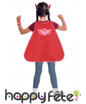 Cape et masque de Bibou Pyjamasques pour enfant, image 1