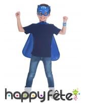 Cape et masque de Yoyo Pyjamasques pour enfant