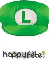 Casquette et Moustache de Luigi pour homme