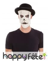 Chapeau et masque de mime