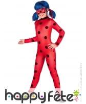 Combinaison et masque de Ladybug Miraculous, fille, image 1