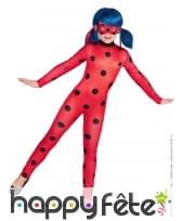 Combinaison et masque de Ladybug Miraculous, fille