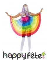 Cape en voile gaypride pour adulte, image 1